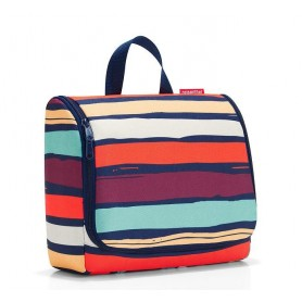 TOILET BAGS Trousse toilette XL, artist stripes made by Reisenthel