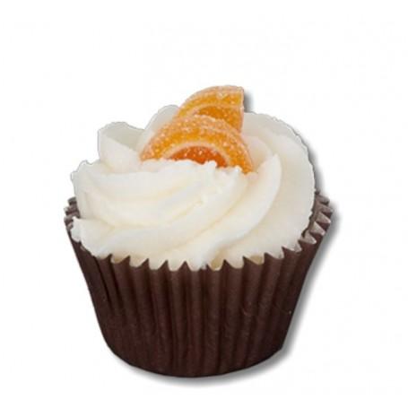 Orange Cannelle, mini cupcake from Autour du Bain in Paris