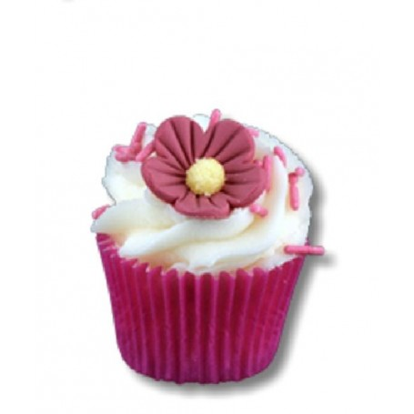 Mini cupcake, Fraisy from Autour du Bain in Paris @ Soap and the City, soaps, candles, incens, perfumes and teddies