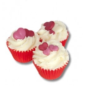 Bad smelters Mini cupcake, Cranberry made by Autour du Bain