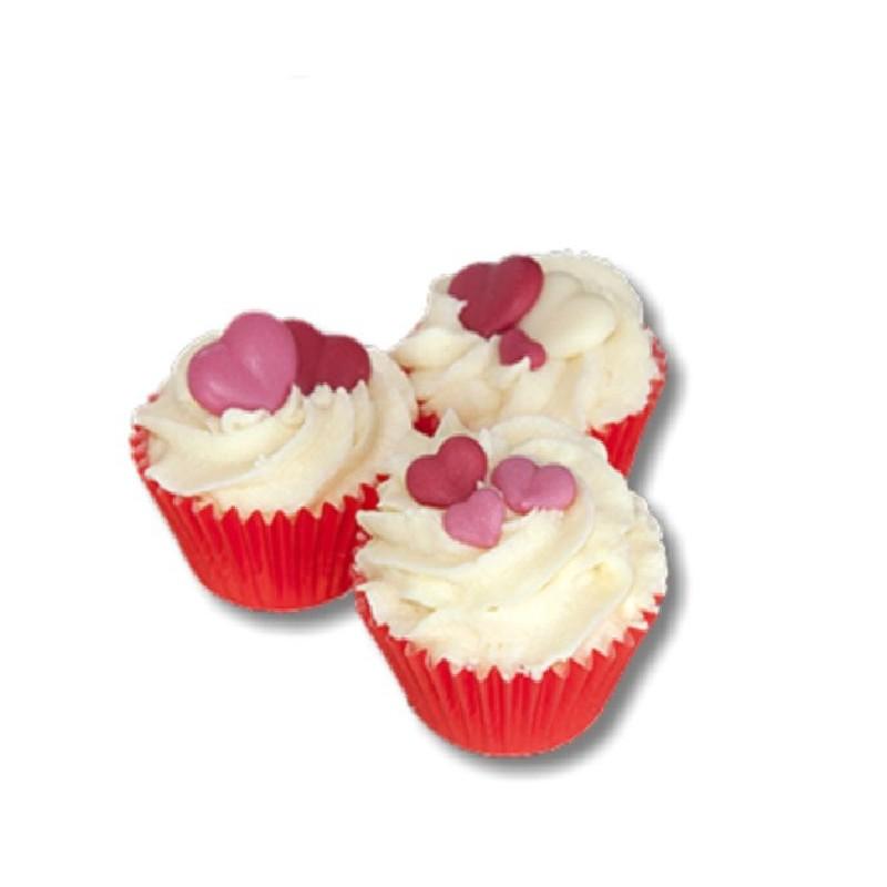 Mini cupcake, Cranberry