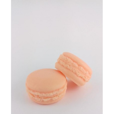 Macaron savon, Mandarine from Autour du Bain in Paris