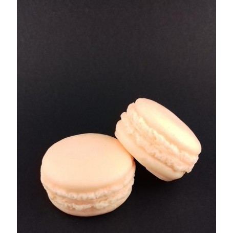 Cupcakes et pati'savon Macaron savon, Mandarine de Autour du Bain
