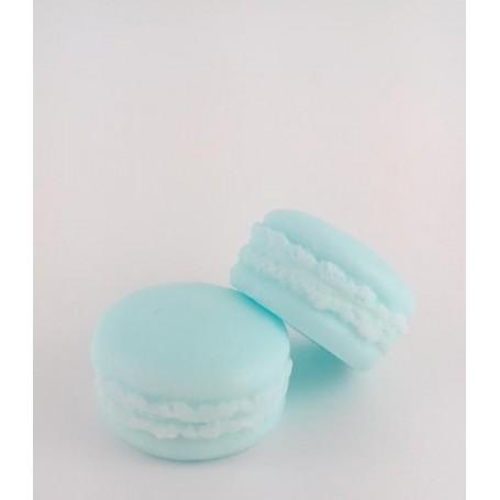 Macaron savon, Menthe Poivrée Autour du Bain à Paris chez Soap and the City, savons, bougies, parfums, encens et peluches