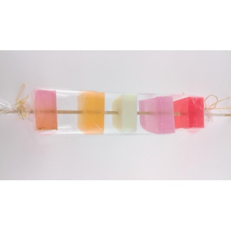 Savons en brochette, Fruité & Gourmand from Autour du Bain in Paris @ Soap and the City, soaps, candles, incens, perfumes and...