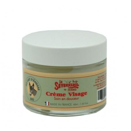 Crèmes et huiles Crème visage au lait d'ânesse BIO de La Savonnerie de Nyons