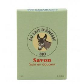 Savon divers Mini savon au Lait d'ânesse BIO de La Savonnerie de Nyons