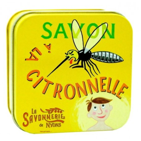 Savon anti-moustiques à la Citronnelle from La Savonnerie de Nyons in Paris