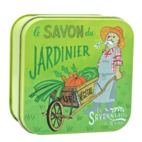 Savon du jardinier La Savonnerie de Nyons à Paris chez Soap and the City, savons, bougies, parfums, encens et peluches