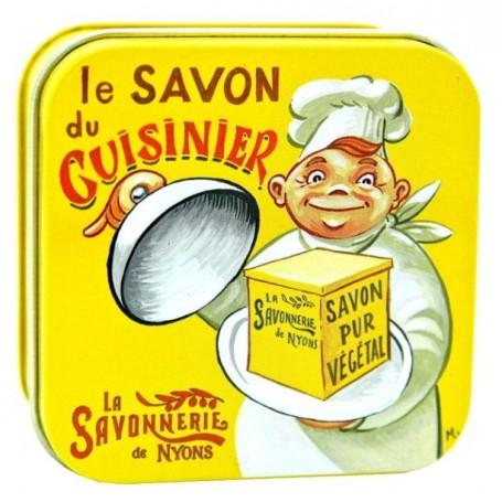 Savon du cuisinier La Savonnerie de Nyons à Paris chez Soap and the City, savons, bougies, parfums, encens et peluches