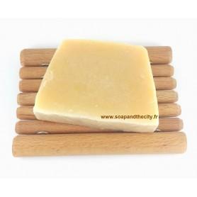 Handcut soaps Tranche de savon surgras, Beurre de Cacao made by Savonissime