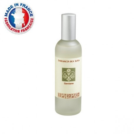 Vaporisateurs parfums Homespray Gentiane made by Ambiance des Alpes