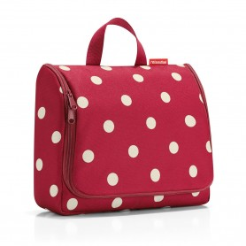 TOILET BAGS Trousse XL voyage, Ruby Dots made by Reisenthel
