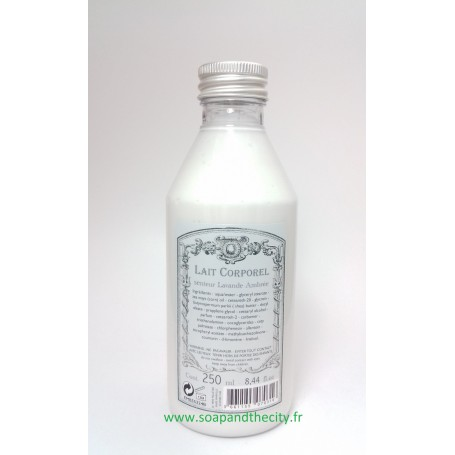 Crèmes et huiles Lait corporel, Lavande Ambrée de Le Père Pelletier
