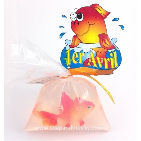 Pour les enfants Savon avec poisson rouge de De Laurier