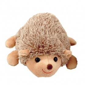 Peluche herisson, Hubert laying