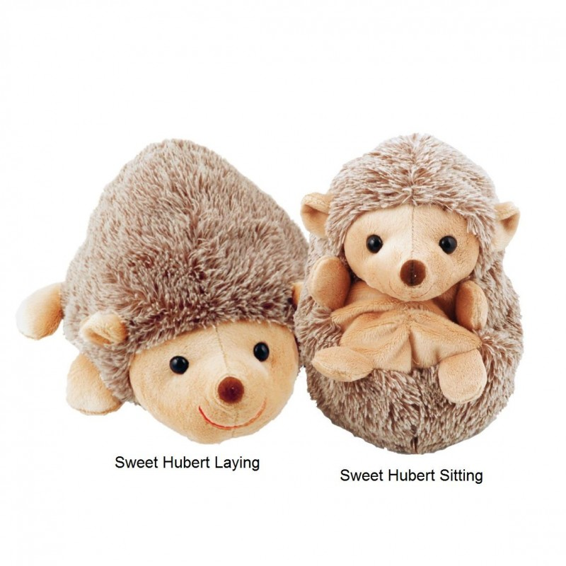 Peluche herisson, Sweet Hubert laying