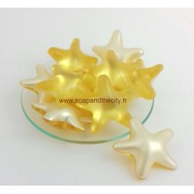 Bille de bain parfum Ananas, en Etoile