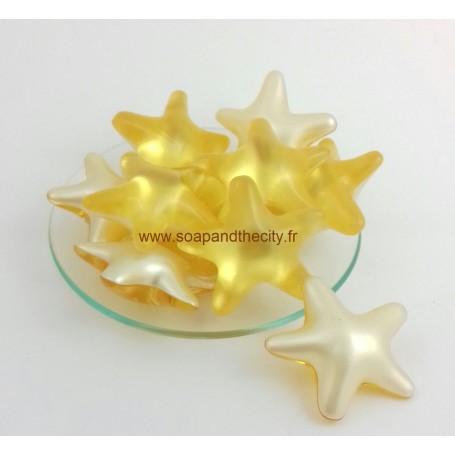 Boules et perles de bain Bille de bain parfum Ananas, en Etoile de Bomb Cosmetics