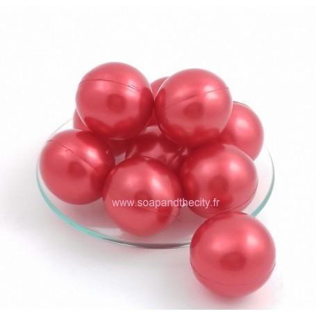 Boules et perles de bain Bille de bain, parfum Fraise de Bomb Cosmetics