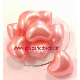 Bille de bain parfum Rose, en Coeur