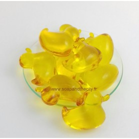 Bad parels Bille de bain parfum Citron, en Canard de Bomb Cosmetics