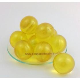 Boules et perles de bain Bille de bain, parfum Verveine Citron de Bomb Cosmetics