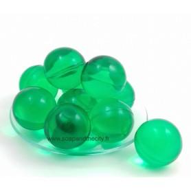Boules et perles de bain Bille de bain parfum Chèvrefeuille, verte de Bomb Cosmetics