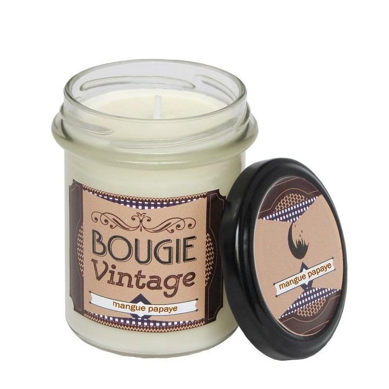 Bougie parfumée 30hrs, Mangue Papaye