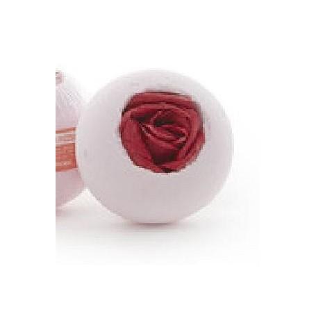 Bombe de bain, Rosa Rosa, boule effervescente De Laurier à Paris chez Soap and the City, savons, bougies, parfums, encens et ...