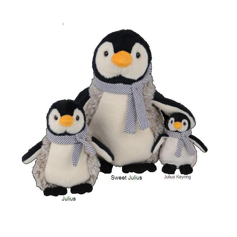 Peluche Julius Pinguin