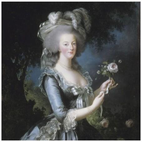 Sachet parfumé Rose - Marie Antoinette Le Blanc à Paris chez Soap and the City, savons, bougies, parfums, encens et peluches