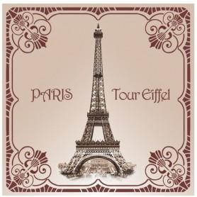 Sachets parfumés Sachet parfumé Rose - Tour Eiffel 1900 de Le Blanc