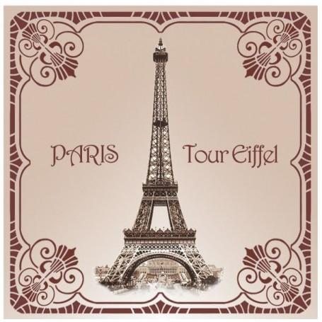 Sachet parfumé Rose - Tour Eiffel 1900 Le Blanc à Paris chez Soap and the City, savons, bougies, parfums, encens et peluches