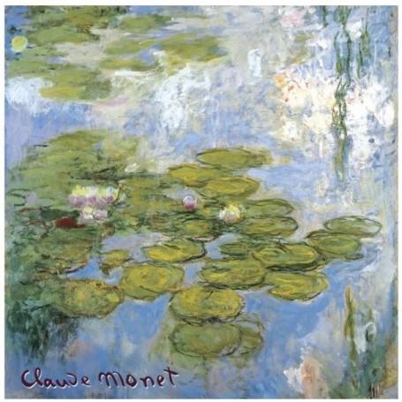 Sachet parfumé Rose - Nympheas Claude Monet Le Blanc a Paris
