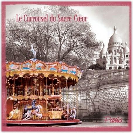 Sachet parfumé Pomme d'Amour - Caroussel Le Blanc a Paris