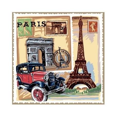 Sachet parfumé Rose - Paris Le Blanc à Paris chez Soap and the City, savons, bougies, parfums, encens et peluches