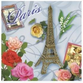 Sachets parfumés Sachet parfumé Rose - Tour Eiffel fleurie de Le Blanc