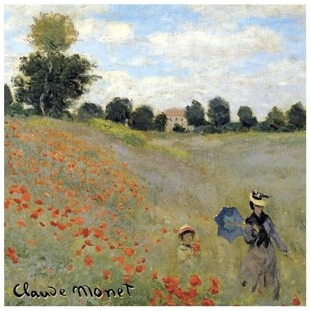 Sachet parfumé Fruits Rouges - Coquelicots Monet Le Blanc a Paris