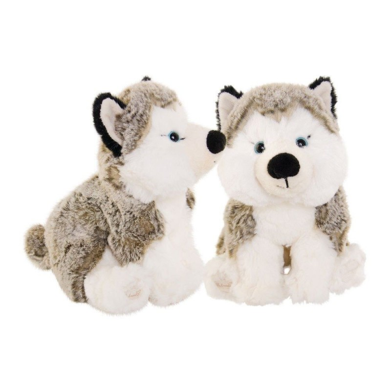 Peluche chien, Husky the Blue