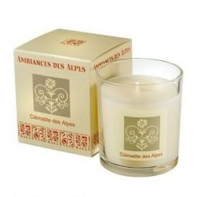 Bougies parfumées Bougie parfumée 40h, Clématite des Alpes de Ambiance des Alpes