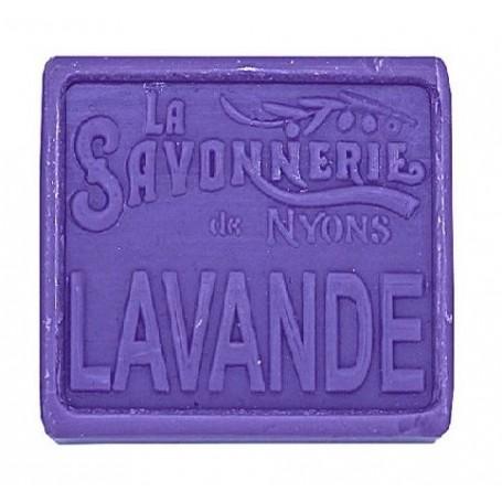 Savon divers savon en boîte métal, Champ de Lavande de La Savonnerie de Nyons