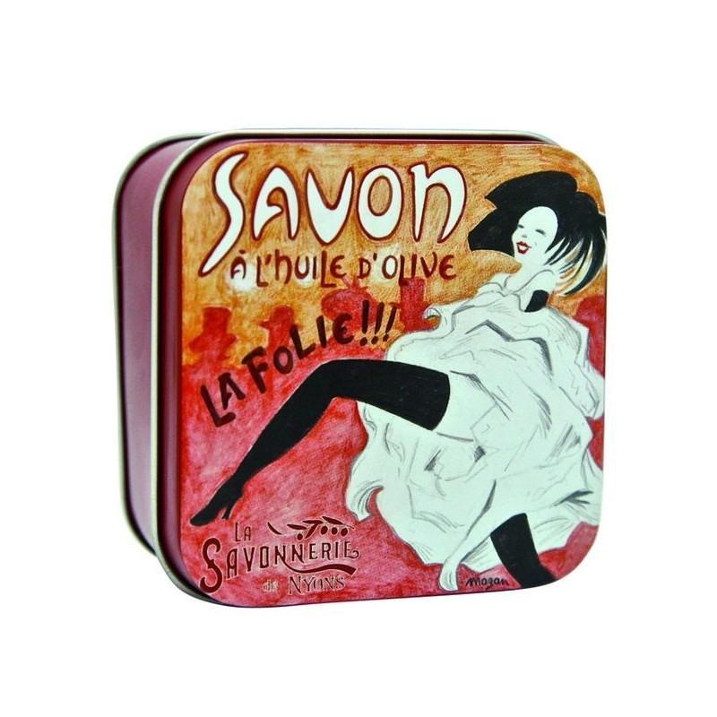 savon en boîte métal, La Folie !!!