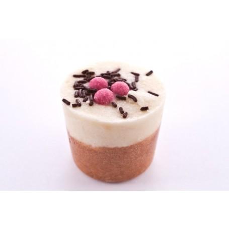 Cupcakes and bath melters Vanilla Bourbon, Bath Muffin made by Autour du Bain
