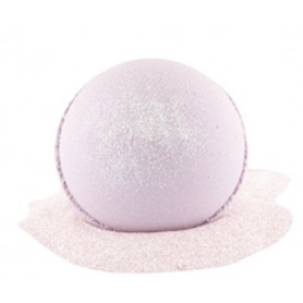 Pearls and bath bombs Boule de bain moussante, Cassis Capucine made by Autour du Bain