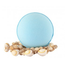 Pearls and bath bombs Boule de bain moussante, Bleu Lagoon made by Autour du Bain