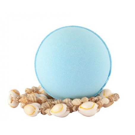 Boule de bain moussante, Bleu Lagoon, boule effervescente Autour du Bain à Paris chez Soap and the City, savons, bougies, par...