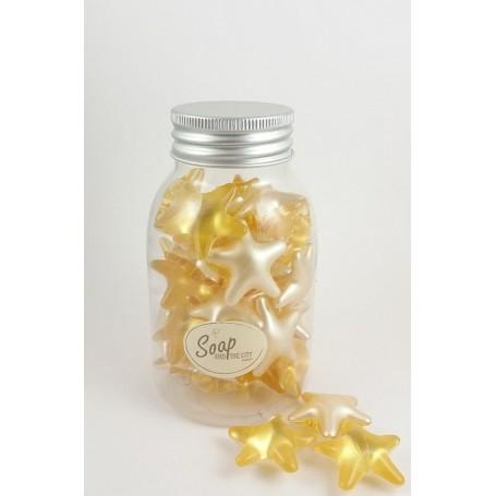Perles de bain en flacon de 30, Ananas étoile Savons et Bougies à Paris chez Soap and the City, savons, bougies, parfums, enc...