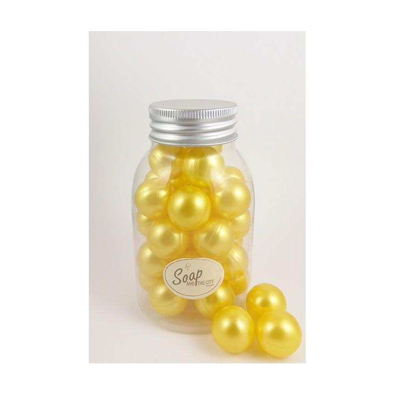 Perles de bain en flacon de 30, Chèvrefeuille