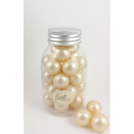 Perles de bain en flacon de 30, Coco from Savons et Bougies in Paris @ Soap and the City, soaps, candles, incens, perfumes an...
